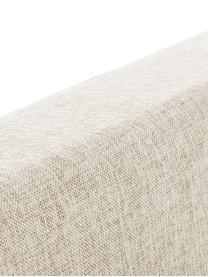 Łóżko kontynentalne premium Eliza, Nogi: lite drewno bukowe, lakie, Beżowy, 200 x 200 cm