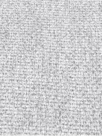 Divano 3 posti in tessuto grigio chiaro Saint, Rivestimento: poliestere 50.000 cicli d, Struttura: legno di pino massiccio, , Tessuto grigio chiaro, Larg. 210 x Alt. 70 cm