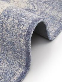 Dywan w stylu vintage Elegant, Niebieski, S 80 x D 150 cm (Rozmiar XS)