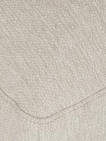 Sofa-Hocker Tribeca in dunklem Beige, Bezug: 100% Polyester Der hochwe, Gestell: Massives Buchenholz, Füße: Massives Buchenholz, lack, Webstoff dunkles Beige, 80 x 40 cm