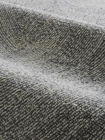 Handgewebter Teppich Canyon mit wellenförmiger Musterung in Grau/Weiß, 51% Polyester, 49% Wolle, Grau, B 200 x L 300 cm (Größe L)