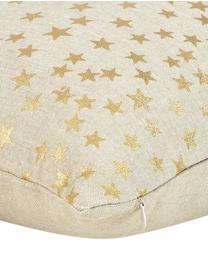 Poszewka na poduszkę Goldstar, Bawełna, Beżowy, odcienie złotego, S 45 x D 45 cm