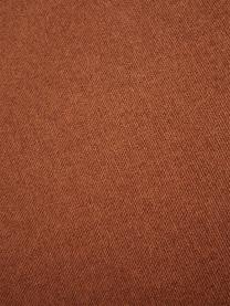 Modulare Ottomane Lennon in Terrakotta, Bezug: Polyester Der hochwertige, Gestell: Massives Kiefernholz, Spe, Füße: Kunststoff, Webstoff Terrakotta, B 269 x T 119 cm