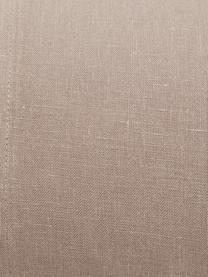 Parure copripiumino in lino Soffio 3 pz, Taupe, 250 x 260 cm + 2 federe 50 x 80 cm