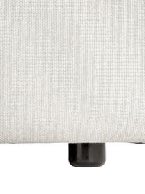 Sofa modułowa narożna Lennon, Tapicerka: poliester Dzięki tkaninie, Nogi: tworzywo sztuczne, Beżowy, S 238 x G 180 cm