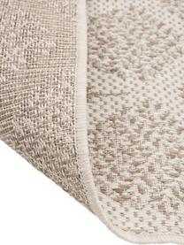 Gemusterter In- & Outdoor-Teppich Stan in Beige/Weiß, 100% Polypropylen, Hellbraun, Hellbeige, B 160 x L 230 cm (Größe M)