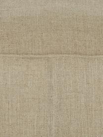 Coussin de sol pur lin fait main Saffron, Taupe