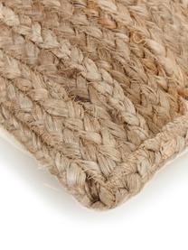 Federa arredo in juta Ural, Retro: cotone, Juta, Larg. 45 x Lung. 45 cm