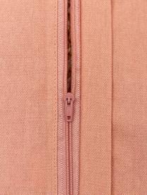 Kissenhülle Bereber mit Ethno-Muster und Quasten, 100% Baumwolle, Weiß, Schwarz, Senfgelb, 30 x 60 cm
