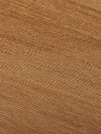 Table ovale plaqué frêne Joni, Placage en frêne