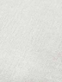 Tappeto in viscosa tessuto a mano Jane, Retro: 100% cotone, Avorio, Larg. 90 x Lung. 150 cm (taglia XS)
