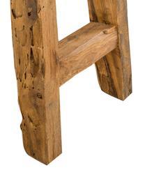 Console en bois recyclé Lawas, Bois de teck