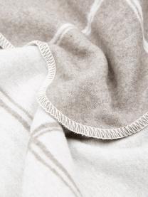 Károvaný flanelový pléd Silvretta, Hnědá, šedá