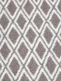 Wende-Handtuch-Set Ava mit grafischem Muster, 3-tlg., Taupe, Cremeweiß, Sondergrößen