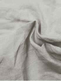 Bieżnik z lnu Pom Pom, Len, Jasny szary, S 40 x D 150 cm