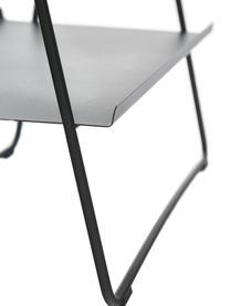 Ladderrek Aguina, Gelakt staal, Zwart, 53 x 75 cm