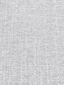 Divano 2 posti in tessuto grigio chiaro Moby, Rivestimento: poliestere 60.000 cicli d, Struttura: legno di pino massiccio, Piedini: metallo verniciato, Tessuto grigio chiaro, Larg. 170 x Prof. 95 cm