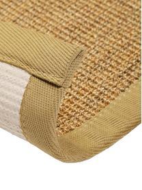 Sisalläufer Leonie in Beige, Vorderseite: 100% Sisalfaser, Rückseite: Latex, Beige, 80 x 300 cm