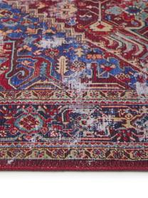 Dywan szenilowy vintage Paulo, Czerwony, niebieski, beżowy, S 190 x D 290 cm (Rozmiar L)