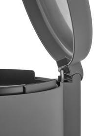 Kosz na śmieci Omega, Tworzywo sztuczne ABS, Szary, matowy, Ø 20 x W 22 cm