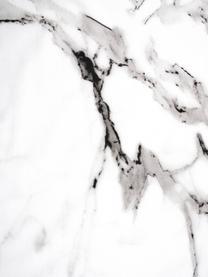 Pościel z perkalu Malin, Przód: wzór marmurowy, szary Tył: jasny szary, gładki, 135 x 200 cm