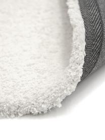 Flauschiger Hochflor-Teppich Leighton in Creme, Flor: Mikrofaser (100% Polyeste, Creme, B 80 x L 150 cm (Größe XS)