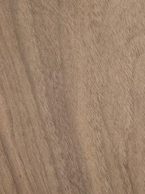 Beistelltisch Clarice in Walnussfarben, Korpus: Mitteldichte Holzfaserpla, Fuß: Metall, beschichtet, Korpus: WalnussholzfurnierFuß: Goldfarben, glänzend gebürstet, Ø 40 x H 50 cm