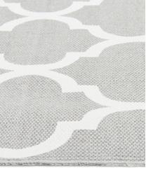 Dywan z bawełny Amira, 100% bawełna, Jasny szary, kremowobiały, D 200 x S 300 cm (Rozmiar L)