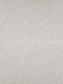 Divano angolare in tessuto beige Fluente, Rivestimento: 80% poliestere, 20% Ramie, Struttura: legno di pino massiccio, Piedini: metallo verniciato a polv, Tessuto beige, Larg. 221 x Prof. 200 cm