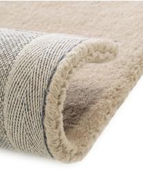 Tappeto in lana taftato a mano Bent, Retro: cotone, Beige, crema, Larg. 200 x Lung. 300 cm (taglia L)