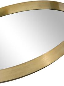Okrągłe lustro ścienne Metal, Rama: odcienie złotego Szkło lustrzane, Ø 30 cm