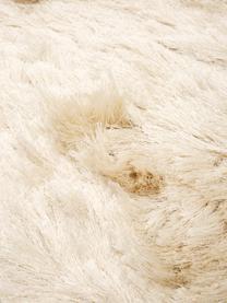 Tappeto lucido a pelo lungo color avorio Jimmy, Retro: 100% cotone, Avorio, Larg. 300 x Lung. 400 cm (taglia XL)