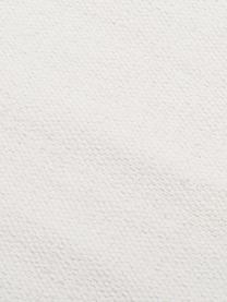 Tapis crème tissé main Agneta, Blanc crème