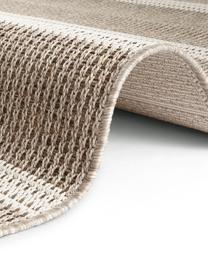 Dywan wewnętrzny/zewnętrzny z imitacji juty Laon, 100% polipropylen, Brązowy, beżowy, S 120 x D 170 cm (Rozmiar S)