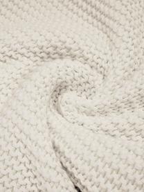 Strick-Kissenhülle Adalyn in Naturweiß, 100% Baumwolle, Naturweiß, 50 x 50 cm