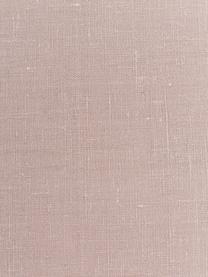 Linnen servetten Heddie in roze, 2 stuks, 100% linnen, Roze, 45 x 45 cm