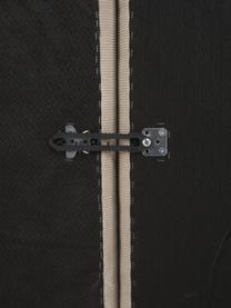 Modulare XL-Ottomane Lennon in Beige aus Cord, Bezug: Cord (92% Polyester, 8% P, Gestell: Massives Kiefernholz, Spe, Füße: Kunststoff Die Füße befin, Cord Beige, B 357 x T 119 cm