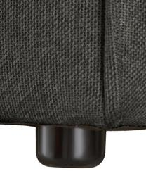 Sofá rinconero modular Lennon, Tapizado: poliéster Alta resistenci, Estructura: madera de pino maciza, ma, Patas: plástico, Tejido gris antracita, An 326 x F 207 cm
