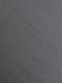 Sedia con braccioli in velluto Rachel, Rivestimento: velluto (poliestere) Con , Gambe: metallo verniciato a polv, Velluto grigio acciaio gambe nero, Larg. 47 x Prof. 64 cm