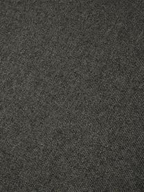 Puf Lennon, Tapicerka: poliester Dzięki tkaninie, Stelaż: lite drewno sosnowe, skle, Nogi: tworzywo sztuczne Nogi zn, Antracytowy, S 88 x W 43 cm