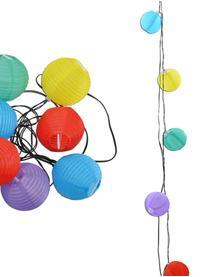 LED-Lichterkette Lampion, 380 cm, Kunststoff, Mehrfarbig, L 380 cm