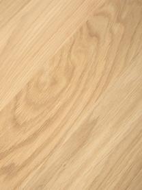 Zitbank Oliver van eikenhout, Zitvlak: geolied massief wild eike, Poten: gepoedercoat metaal, Wild eiken, 160 x 45 cm