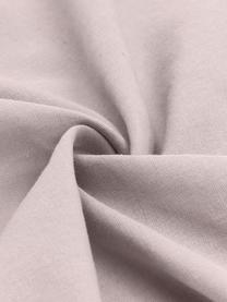 Gewaschene Leinen-Bettwäsche Nature in Altrosa, Halbleinen (52% Leinen, 48% Baumwolle)  Fadendichte 108 TC, Standard Qualität  Halbleinen hat von Natur aus einen kernigen Griff und einen natürlichen Knitterlook, der durch den Stonewash-Effekt verstärkt wird. Es absorbiert bis zu 35% Luftfeuchtigkeit, trocknet sehr schnell und wirkt in Sommernächten angenehm kühlend. Die hohe Reißfestigkeit macht Halbleinen scheuerfest und strapazierfähig., Altrosa, 135 x 200 cm + 1 Kissen 80 x 80 cm