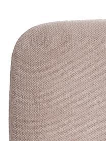 Krzesło tapicerowane Sofia, Tapicerka: poliester, Nogi: metal lakierowany, Beżowy, S 55 x G 45 cm