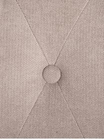 Silla tapizada Dudek, Tapizado: poliéster, Estructura: madera de caucho, Gris topo, An 47 x Al 50 cm