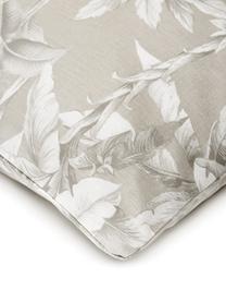 Baumwoll-Bettwäsche Shanida in Beige/Cremeweiß, Webart: Renforcé Fadendichte 144 , Beige, 135 x 200 cm + 1 Kissen