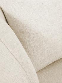 Bouclé-Cocktailsessel Elodie in Weiß, Bezug: Bouclé (70% Polyester, 20, Gestell: Massives Birkenholz, Meta, Füße: Kunststoff, Bouclé Cremeweiß, 86 x 78 cm