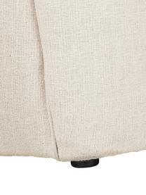 Bouclé-Fauteuil Elodie in wit, Bekleding: bouclé (70% polyester, 20, Frame: massief berkenhout, metaa, Poten: kunststof, Bouclé crèmewit, B 86 x D 62 cm