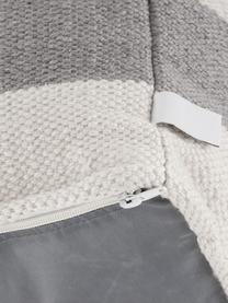 Puf wewnętrzny/zewnętrzny Lani, Szary, beżowy, S 40 x W 40 cm