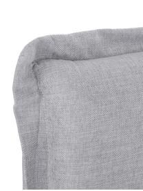 Premium boxspring bed Violet, Matras: 7-zones-pocketveringkern , Poten: massief gelakt beukenhout, Grijs, 160 x 200 cm